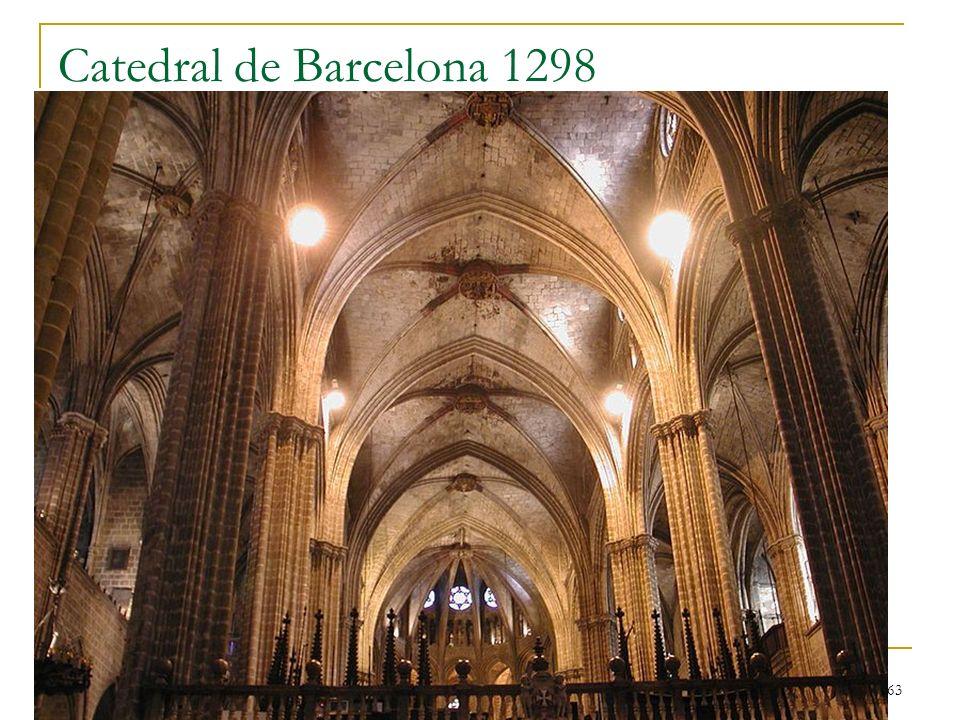 Catedral de Barcelona 1298 Gótico