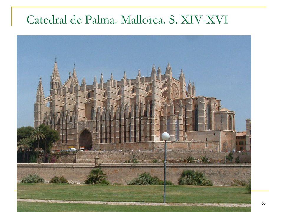 Catedral de Palma. Mallorca. S. XIV-XVI