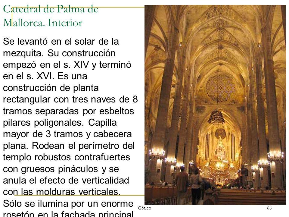Catedral de Palma de Mallorca. Interior