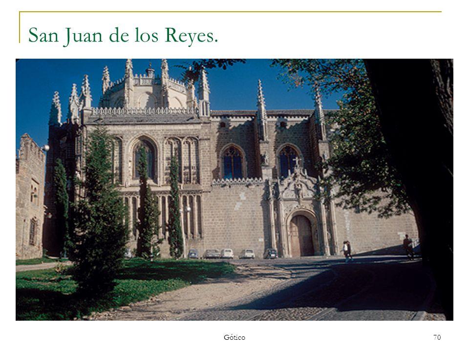 San Juan de los Reyes. Gótico