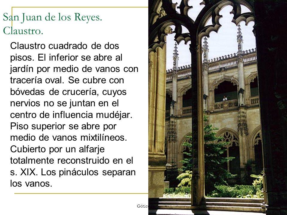 San Juan de los Reyes. Claustro.