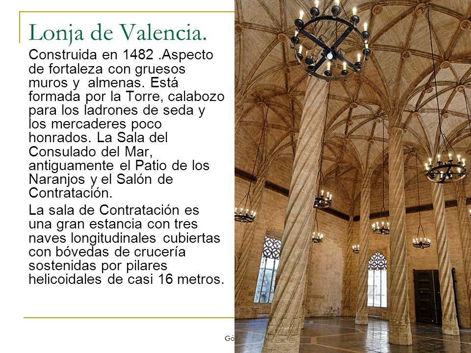 Lonja de Valencia.