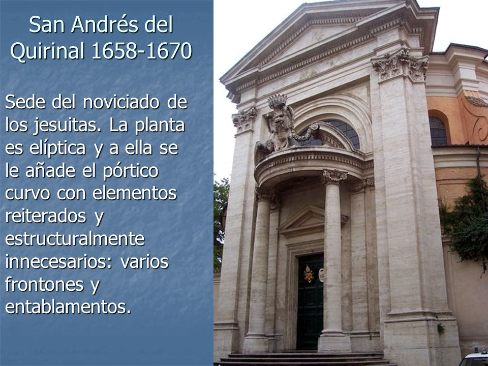 San Andrés del Quirinal 1658-1670