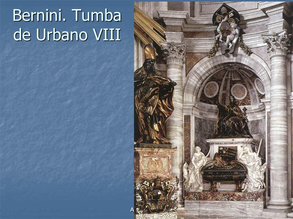 Bernini. Tumba de Urbano VIII