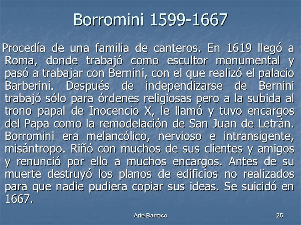 Borromini 1599-1667