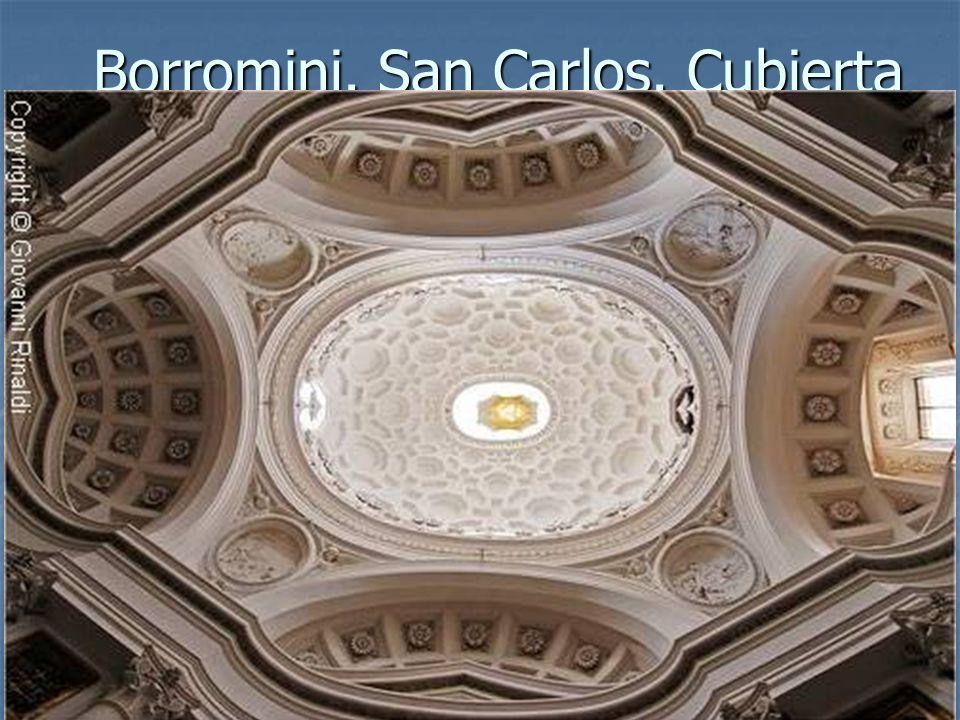Borromini. San Carlos. Cubierta