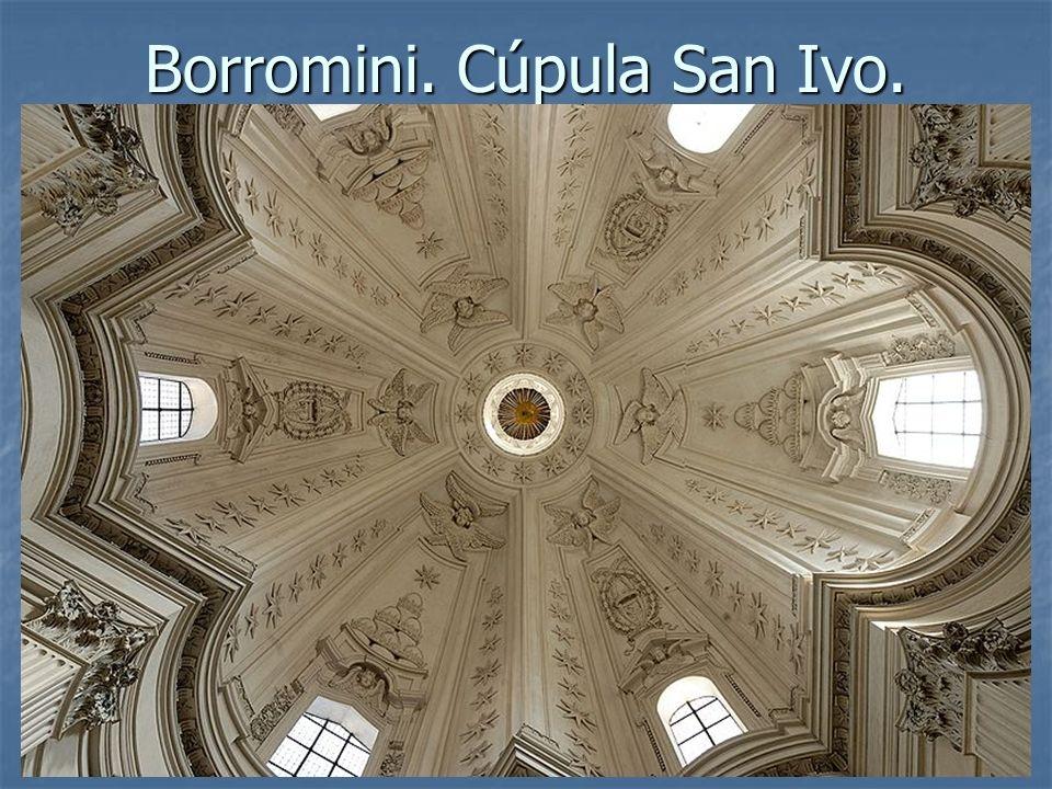 Borromini. Cúpula San Ivo.