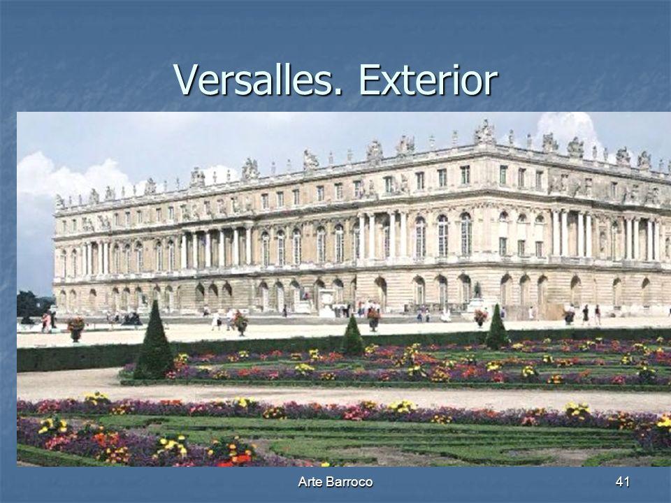 Versalles. Exterior Arte Barroco