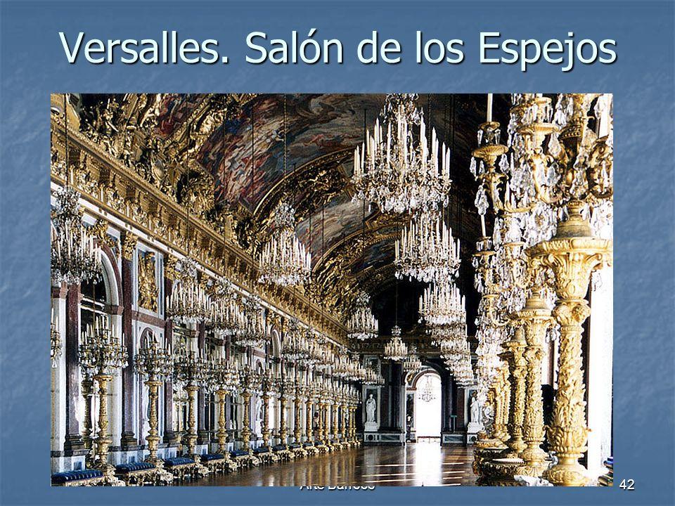 Versalles. Salón de los Espejos