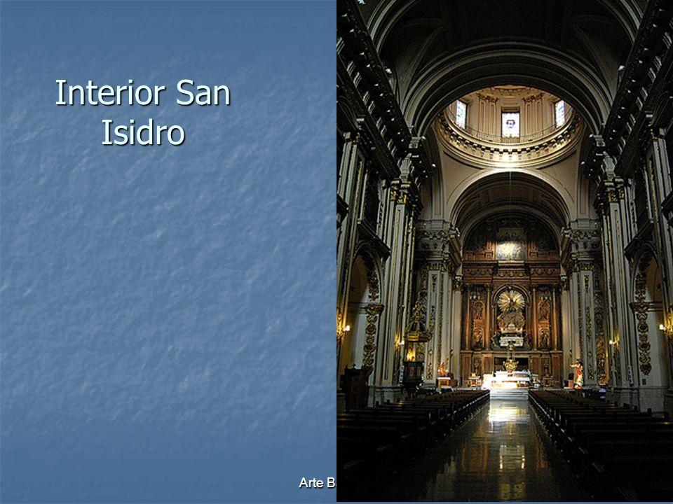 Interior San Isidro Arte Barroco