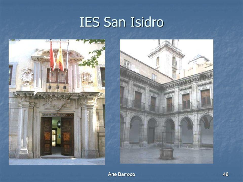 IES San Isidro Arte Barroco