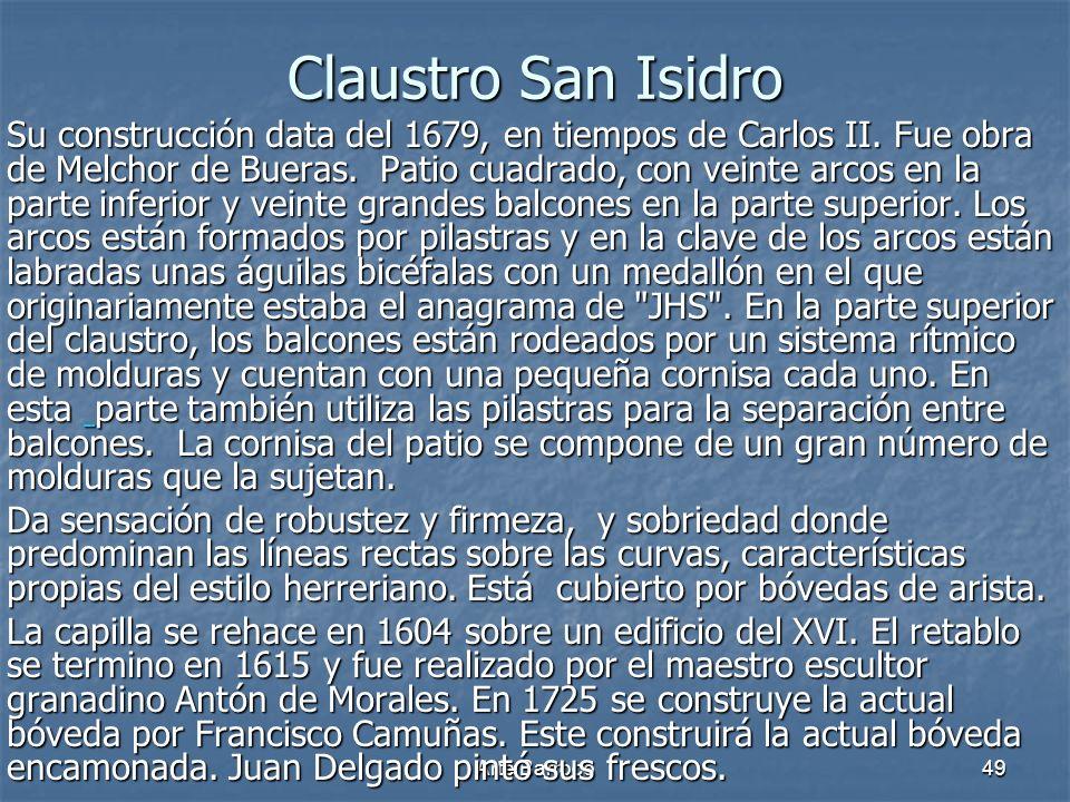 Claustro San Isidro