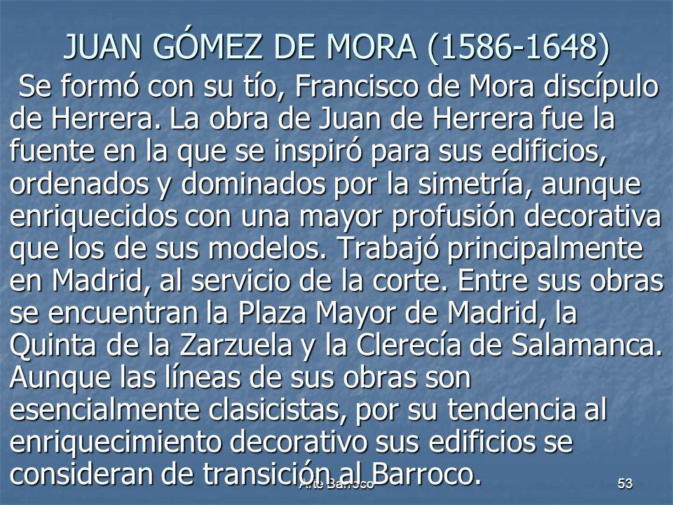 JUAN GÓMEZ DE MORA (1586-1648)
