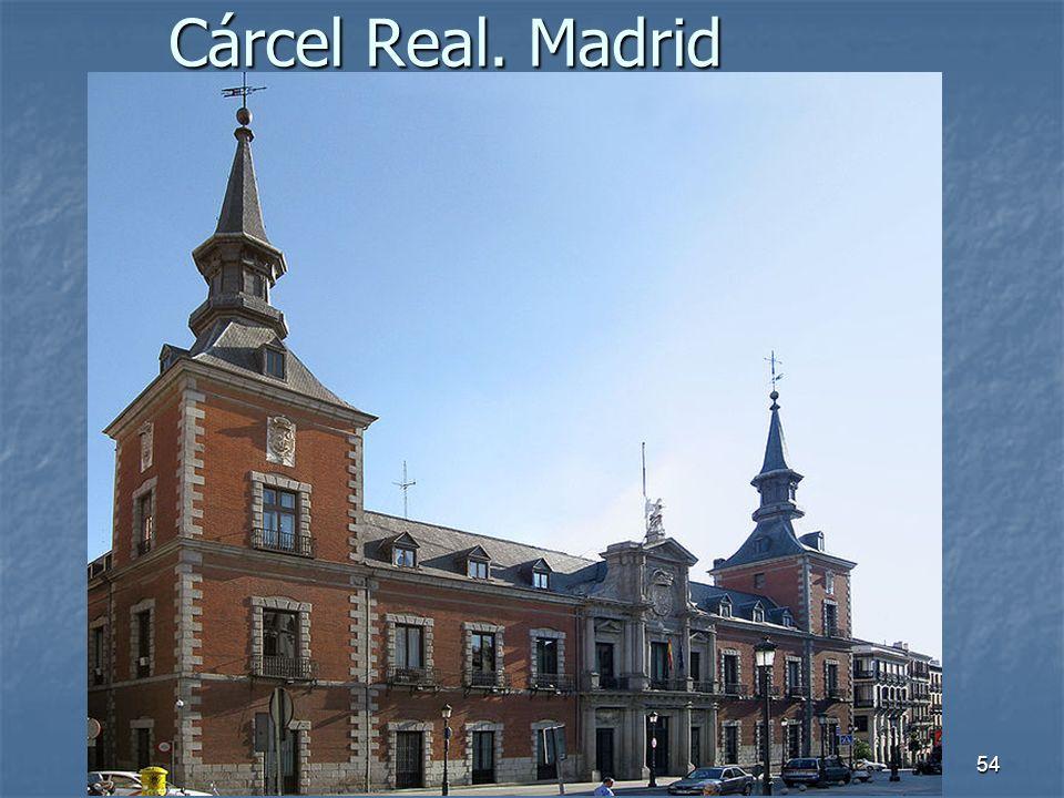 Cárcel Real. Madrid Arte Barroco