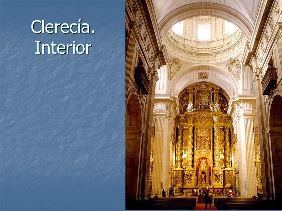 Clerecía. Interior Arte Barroco