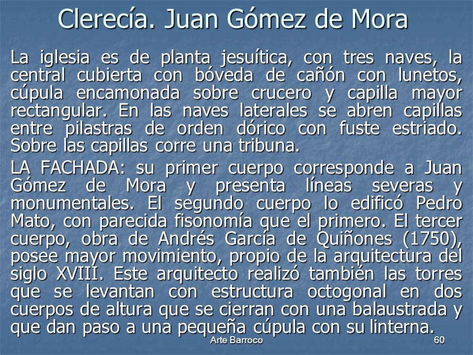 Clerecía. Juan Gómez de Mora