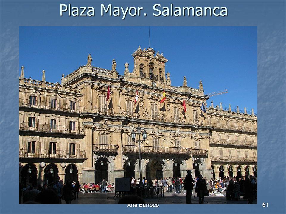 Plaza Mayor. Salamanca Arte Barroco