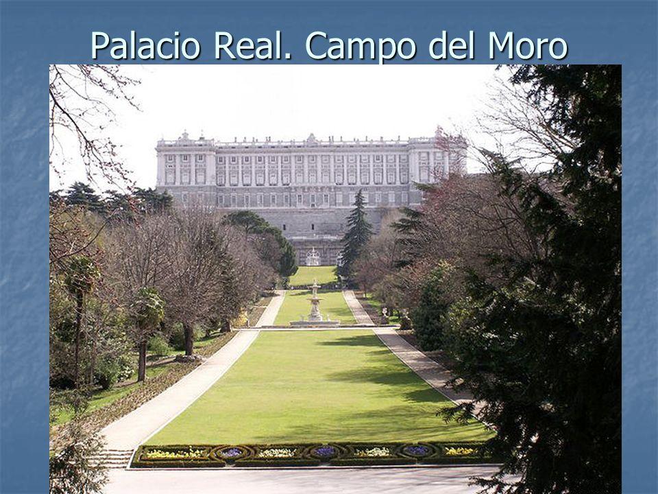Palacio Real. Campo del Moro