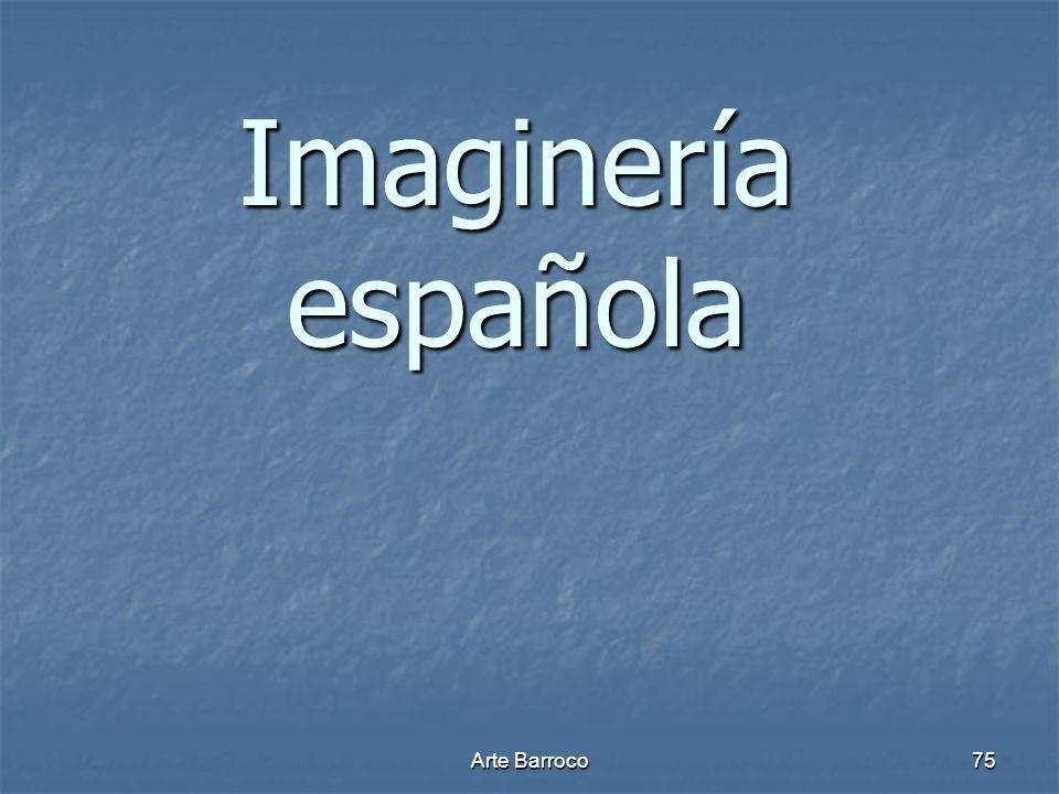 Imaginería española Arte Barroco