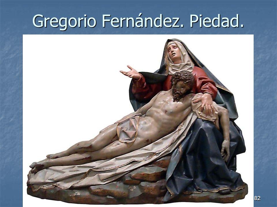 Gregorio Fernández. Piedad.