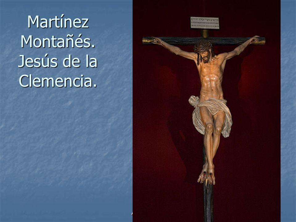Martínez Montañés. Jesús de la Clemencia.