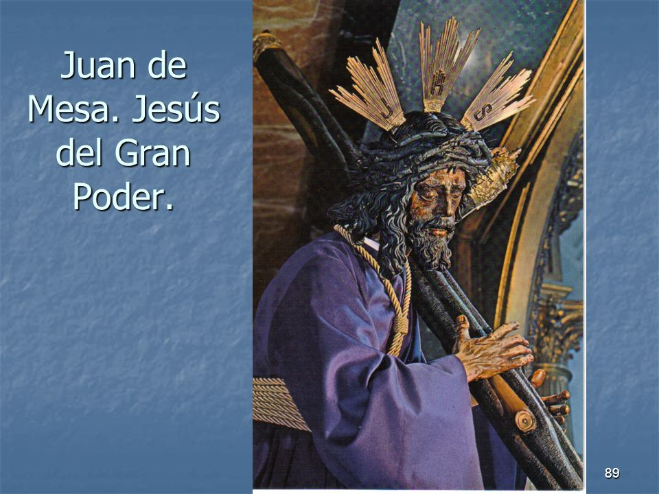 Juan de Mesa. Jesús del Gran Poder.