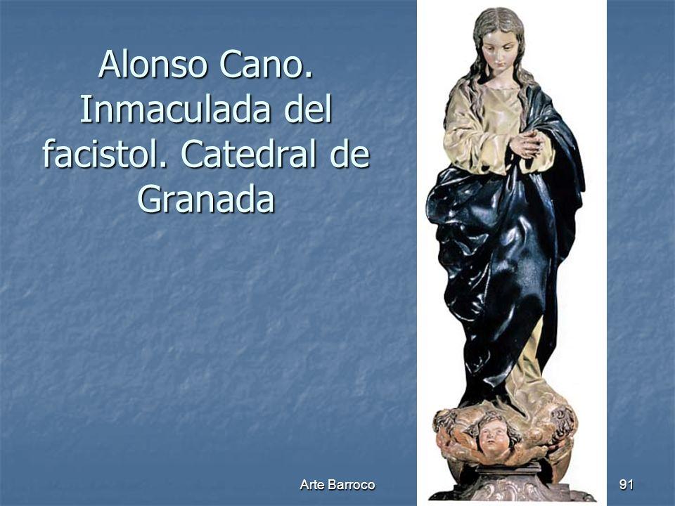 Alonso Cano. Inmaculada del facistol. Catedral de Granada