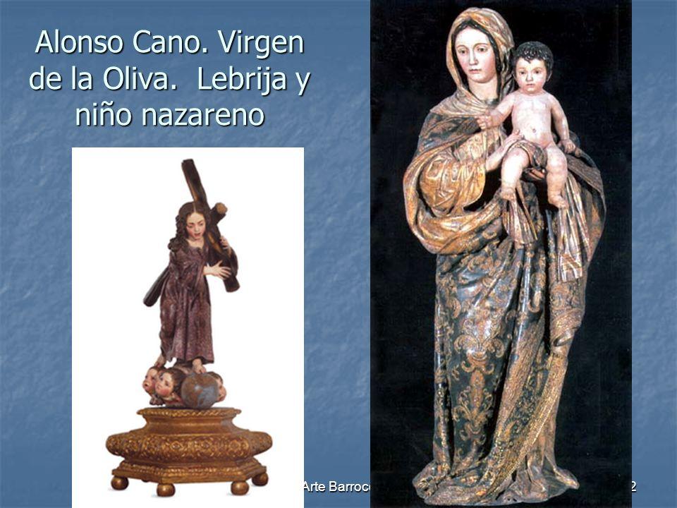 Alonso Cano. Virgen de la Oliva. Lebrija y niño nazareno