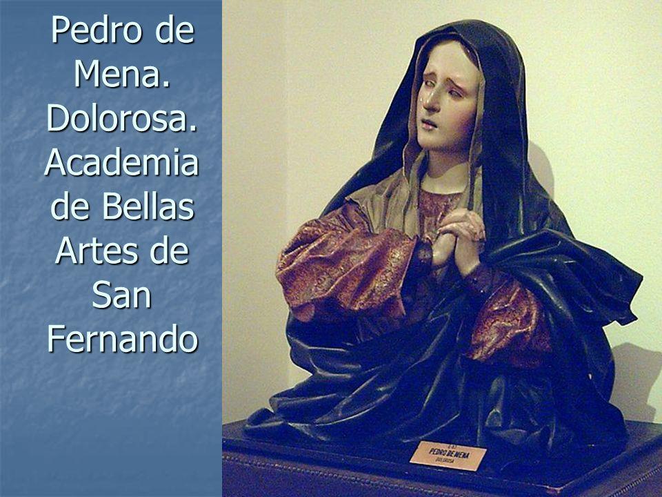 Pedro de Mena. Dolorosa. Academia de Bellas Artes de San Fernando