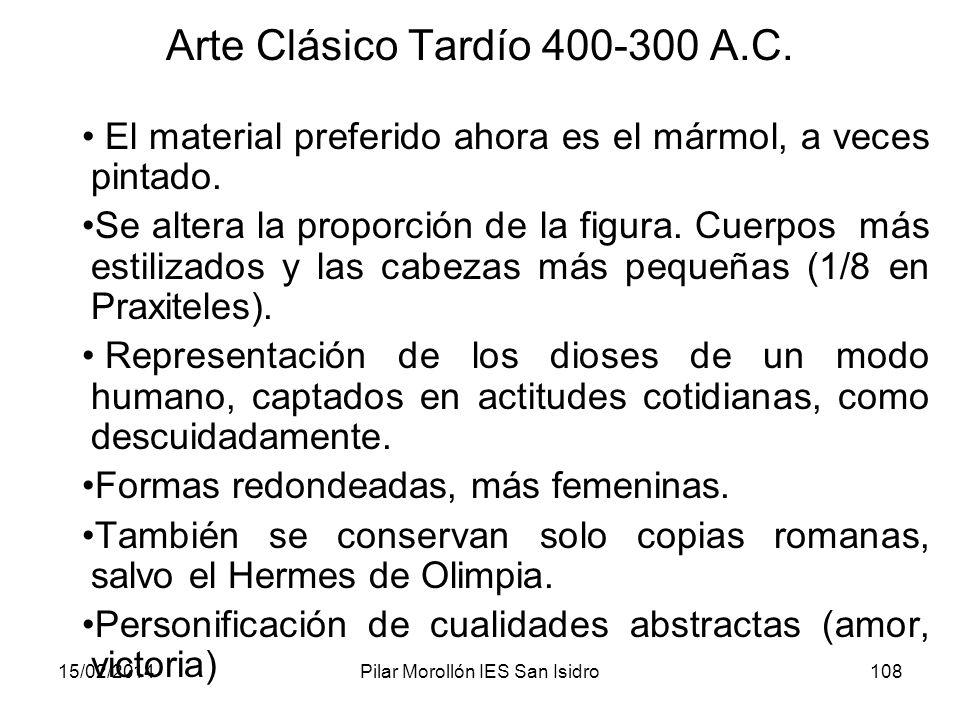 Arte Clásico Tardío 400-300 A.C.