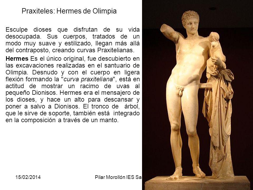 Praxiteles: Hermes de Olimpia