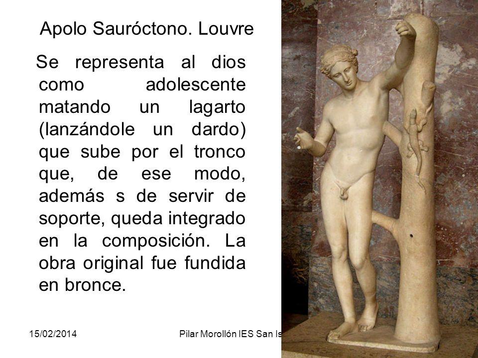 Apolo Sauróctono. Louvre