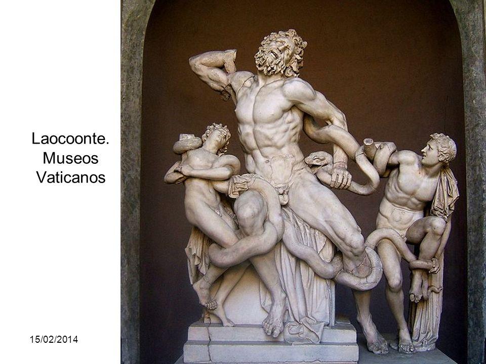 Laocoonte. Museos Vaticanos