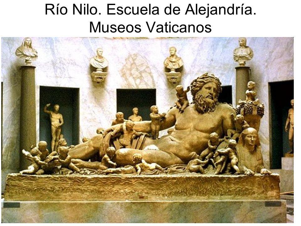 Río Nilo. Escuela de Alejandría. Museos Vaticanos