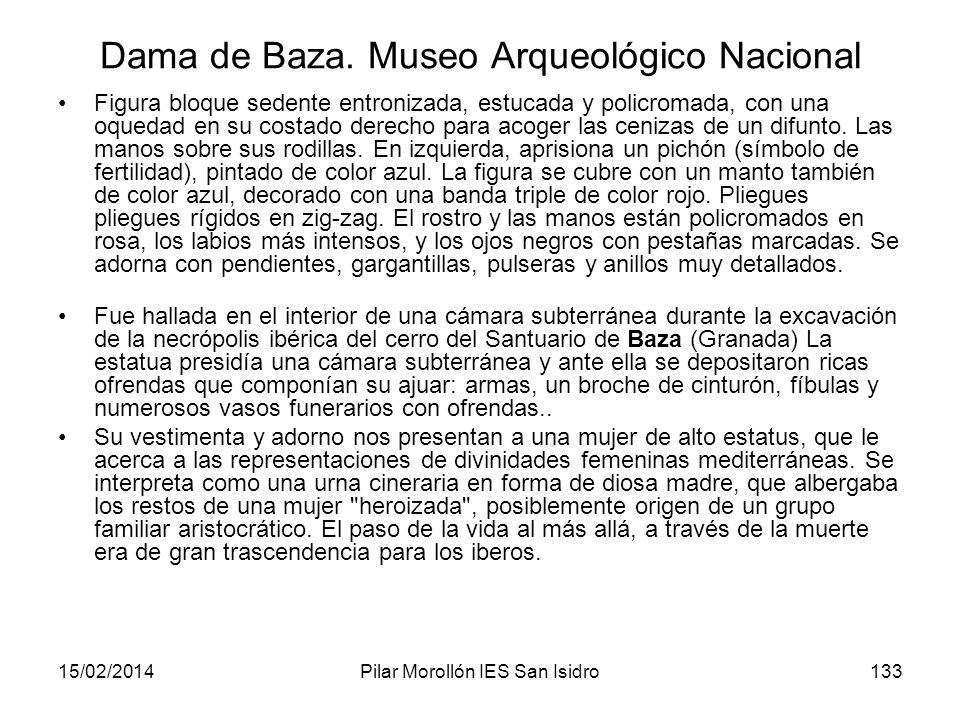 Dama de Baza. Museo Arqueológico Nacional