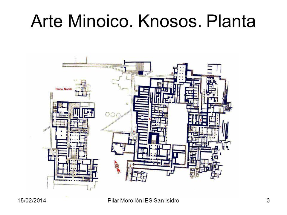 Arte Minoico. Knosos. Planta