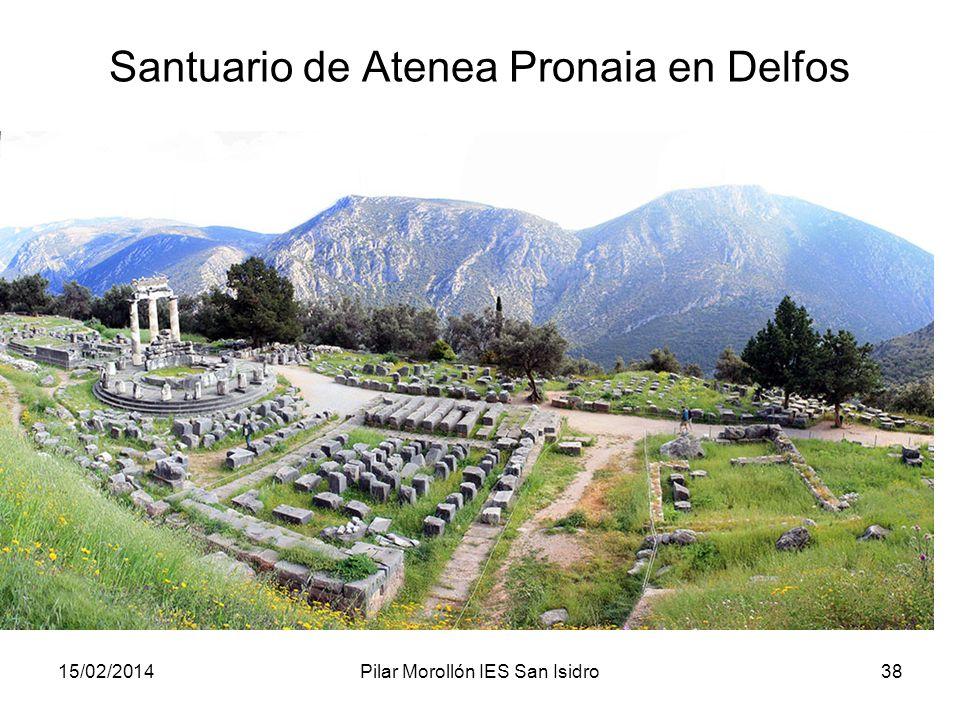 Santuario de Atenea Pronaia en Delfos