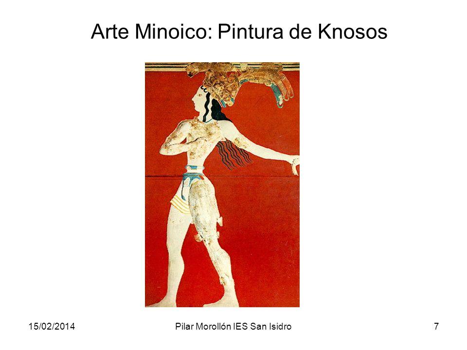 Arte Minoico: Pintura de Knosos