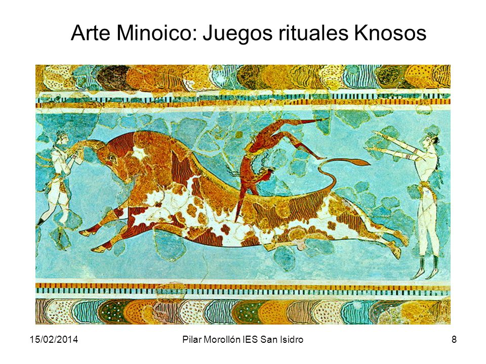 Arte Minoico: Juegos rituales Knosos