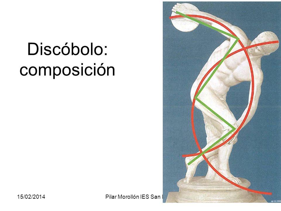Discóbolo: composición