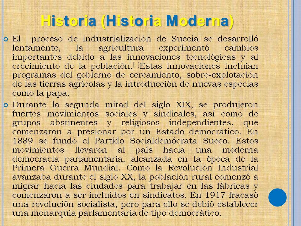 Historia (Historia Moderna)