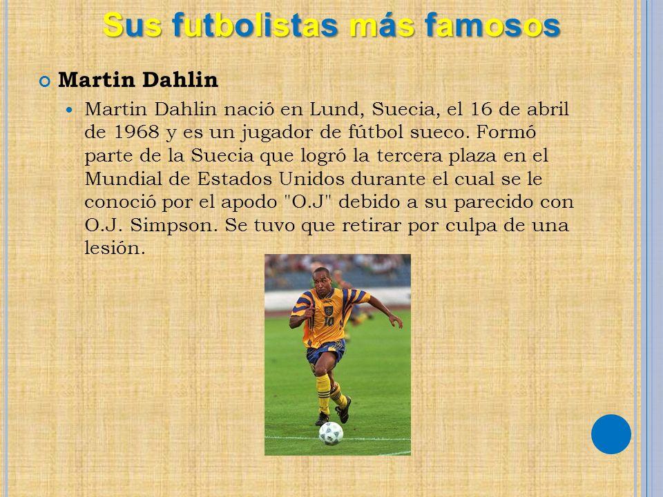 Sus futbolistas más famosos