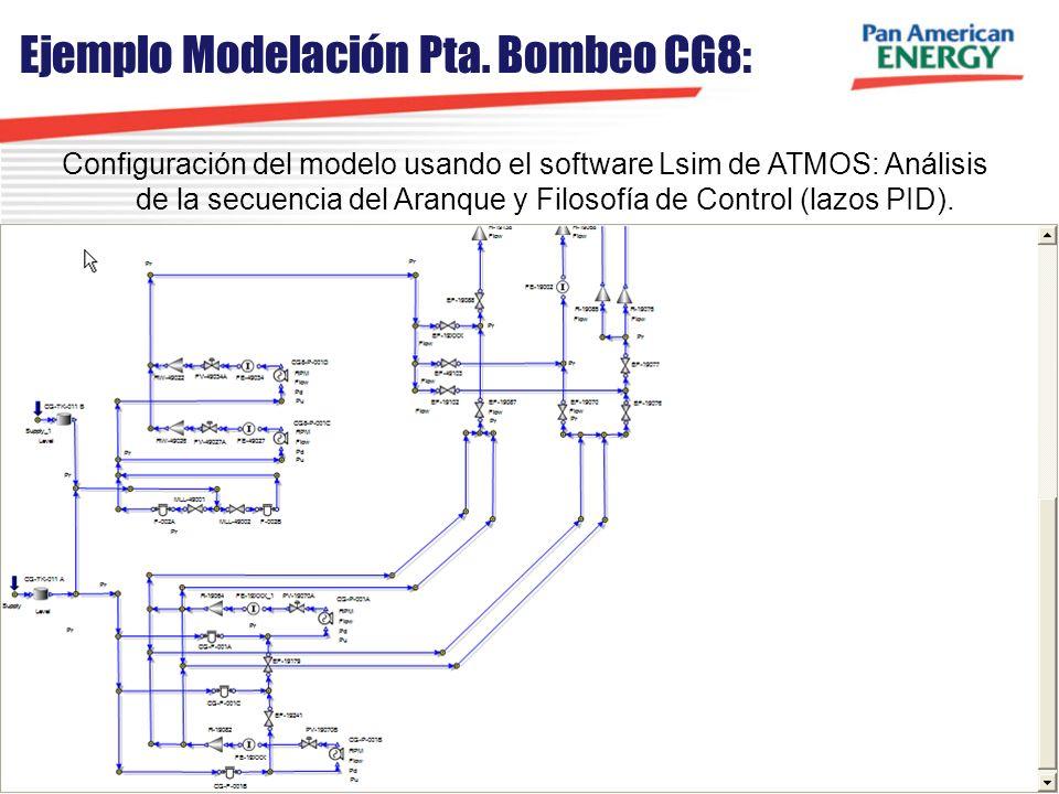 Ejemplo Modelación Pta. Bombeo CG8: