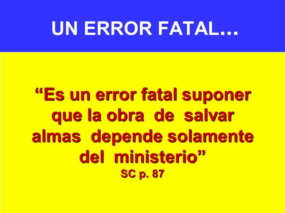 UN ERROR FATAL...