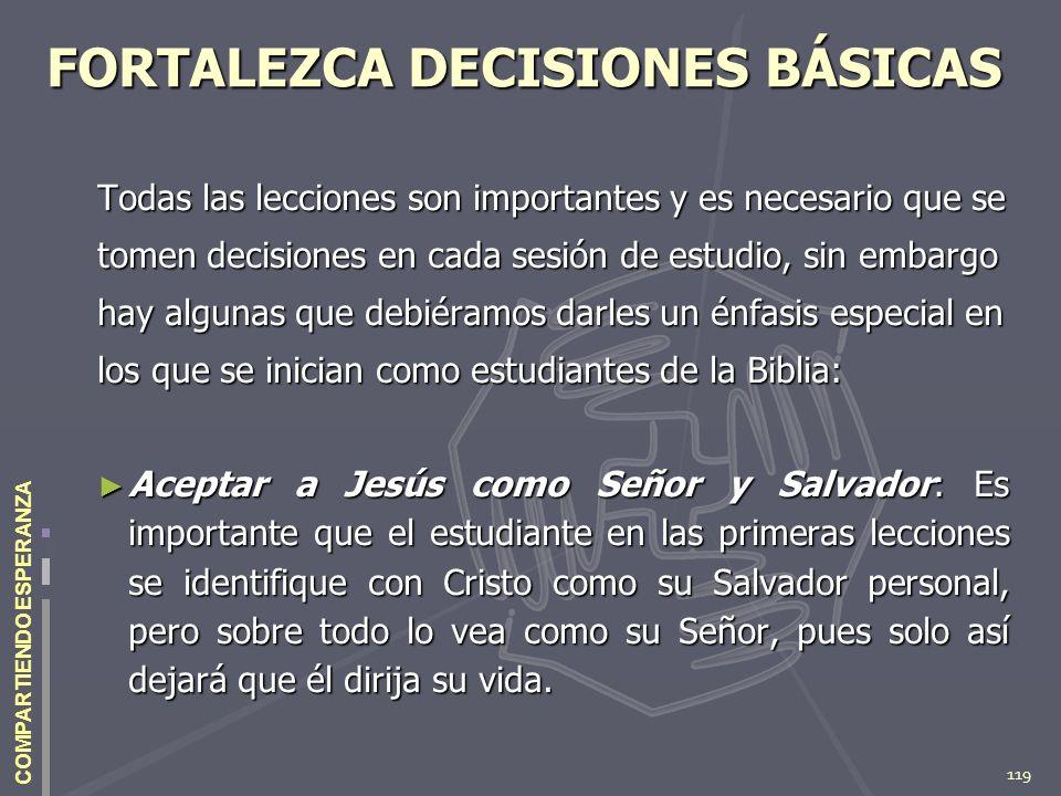FORTALEZCA DECISIONES BÁSICAS