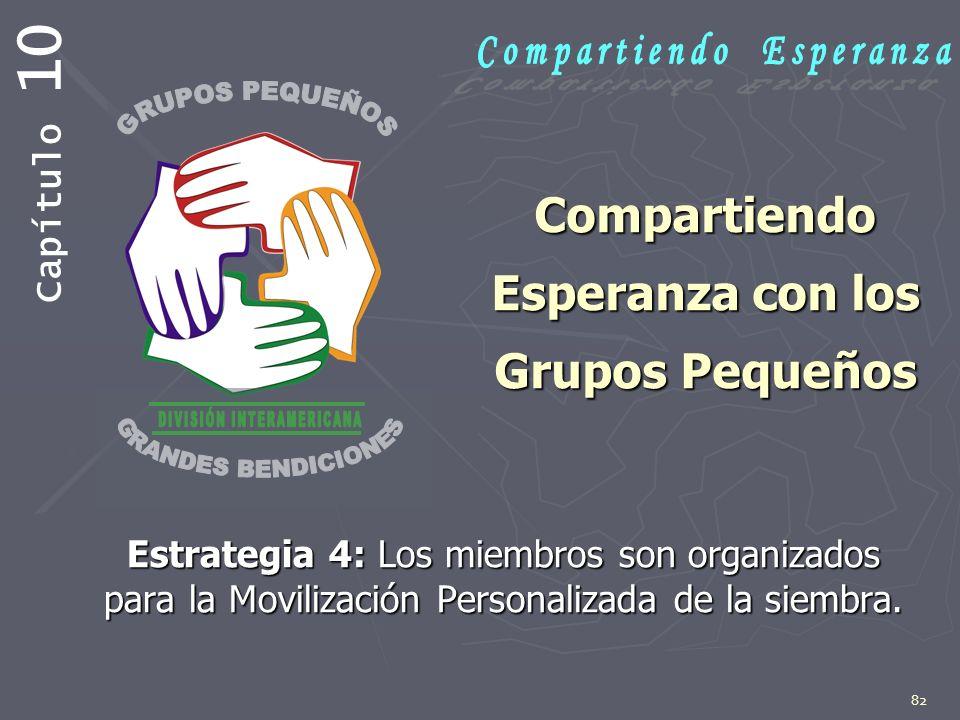 Compartiendo Esperanza con los Grupos Pequeños