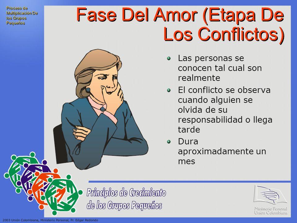 Fase Del Amor (Etapa De Los Conflictos)