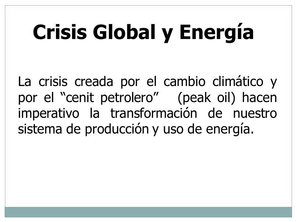 Crisis Global y Energía