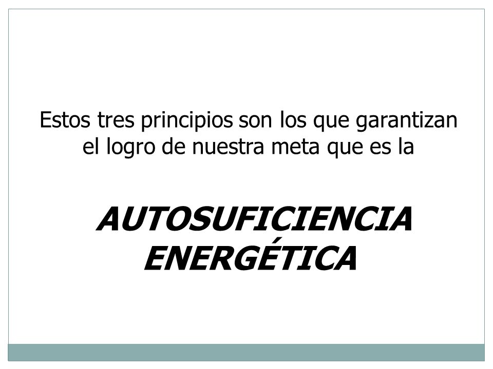 Autosuficiencia energética