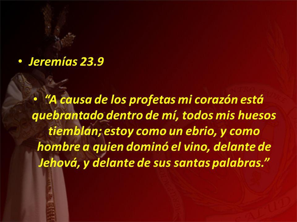 Jeremías 23.9